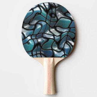 Mosaik-Laubsägen-Meer Tischtennis Schläger