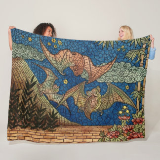 Mosaik schlägt Fleece-Decke Fleecedecke