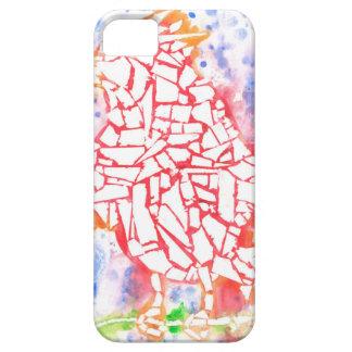 Mosaik-Vogel iPhone 5 Hülle
