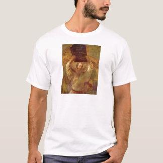 Moses mit den Tabletten des Gesetzes durch T-Shirt