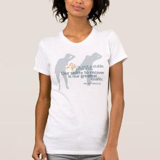 Moshe Zitat: Leben-nicht stabiler Prozess 2 für T-Shirt