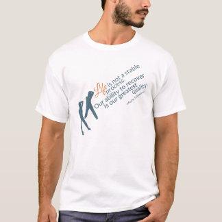 Moshe Zitat: Leben-nicht stabiler Prozess für ihn T-Shirt