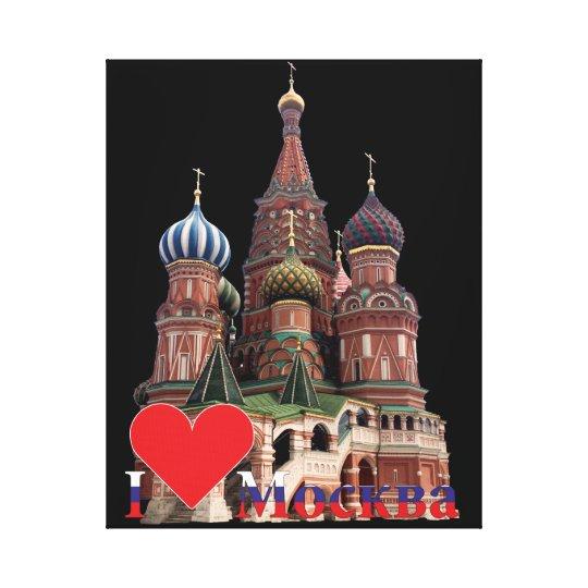Moskau Russland Russia Leinwand