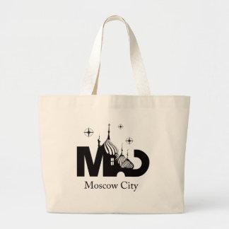 Moskau-Stadt Jumbo Stoffbeutel