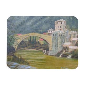 Mostar-Brücke Magnet