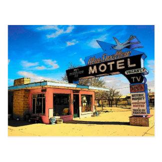 Motel-Postkarte des Weg-66 - besonders angefertigt