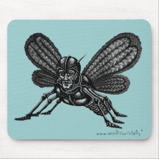 Mothman abstraktes grafische Kunst cooles mousepad