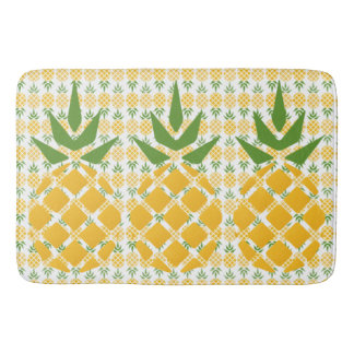 Motif d'ananas tapis de bain
