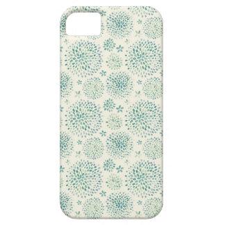 Motif de fleurs d'aquarelle étuis iPhone 5