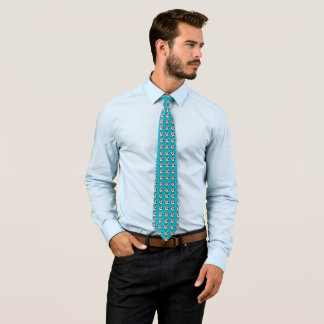 Motif de vache cravate