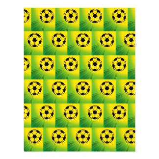Motif du football du Brésil Tract Personnalisé
