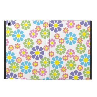 Motif floral coloré d'art