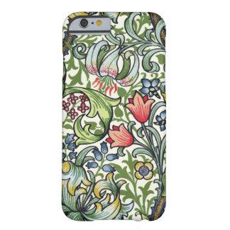 Motif floral de chintz de lis d'or de William Coque Barely There iPhone 6