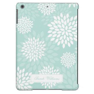Motif floral de chrysanthèmes en bon état coque iPad air