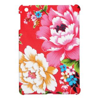 Motif floral ivre coques iPad mini