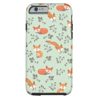 Motif floral rusé coque tough iPhone 6