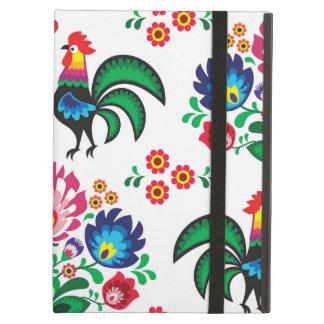 Motif folklorique floral polonais traditionnel de