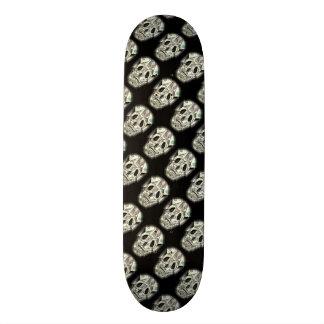 Motif fou de crâne skateboard old school 18,1 cm