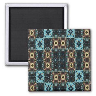 Motif frais moderne magnet carré