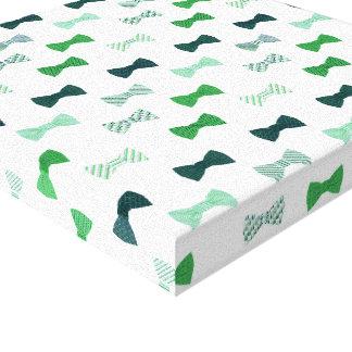 Motif moderne de bowtie d'art de mur de cravate impressions sur toile