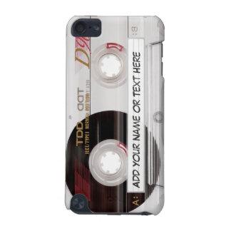 Motif vintage de regard d'enregistreur à cassettes