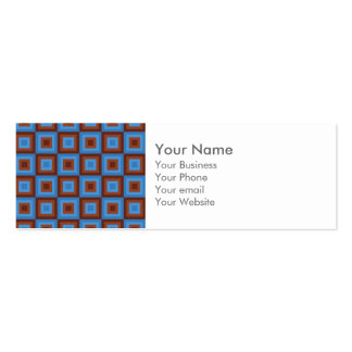 Motifs géométriques bleus de Brown