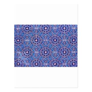 Motifs islamiques 2 cartes postales