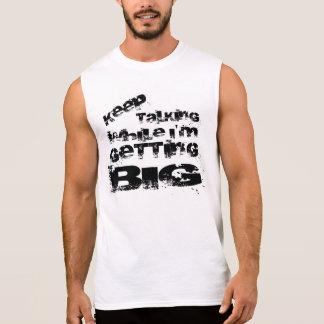 Motivation und Fitness Ärmelloses Shirt
