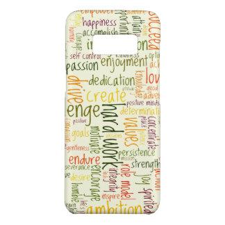 Motivierend Positivermutigung der Wörter #2 Case-Mate Samsung Galaxy S8 Hülle