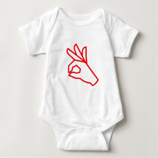 Motivierend Symbol-hervorragendes ausgezeichnetes Baby Strampler