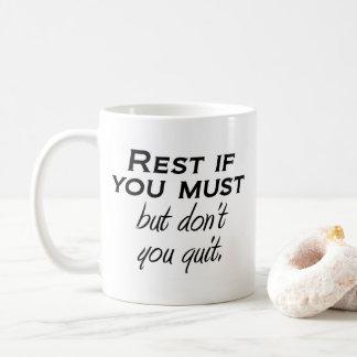 Motivierend Tassenzitat inspirieren Kaffeetasse