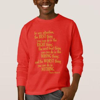 """Motivierend """"tun Sie etwas"""" Zitat-Shirts u. T-Shirt"""