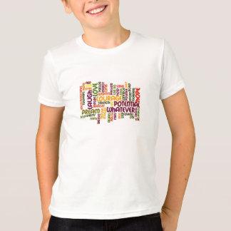 Motivierend Wörter #1, die Ermutigung inspirieren T-Shirt
