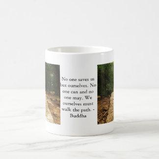 Motivierend Zitat Buddha inspirational Kaffeetasse