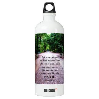 Motivierend Zitat Buddha inspirational Wasserflasche