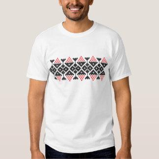 Motivkostüm ethnischen Volkstanzes Rumäniens Shirts