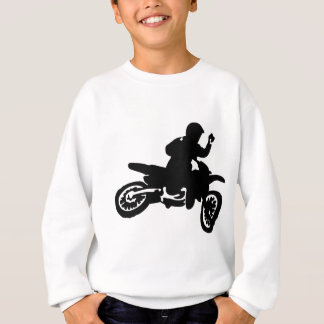 Motocross-Fahrrad-Peitsche Sweatshirt