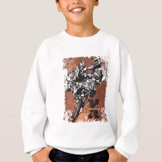 Motocross-Schmutz Sweatshirt