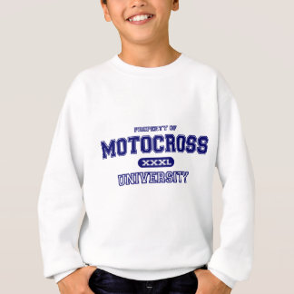 Motocross-Universität Sweatshirt