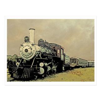 Motor 44 Winnsboro Sc Postkarte