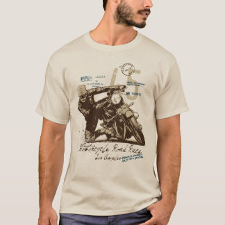 Motorcycle race T-Shirt