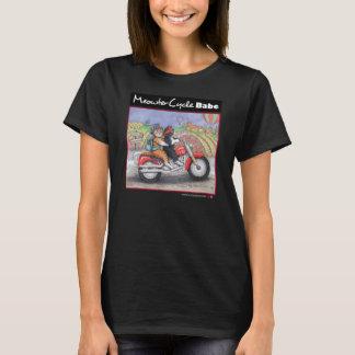 Motorrad-Katzen verurteilen Jersey-T - Shirt
