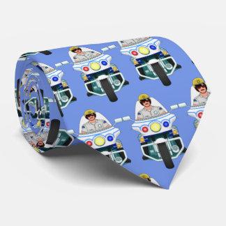 Motorrad-Polizist-Krawatte Personalisierte Krawatten