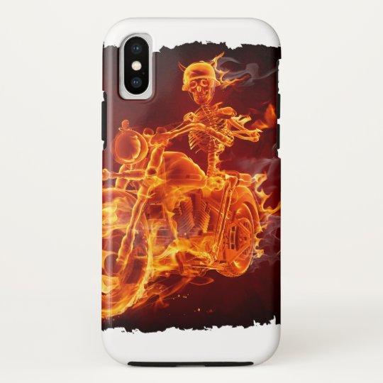 Motorrad-Radfahrer - Skelett HTC Vivid Cover
