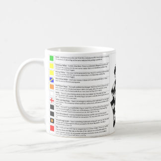 MOTORSPORT FLAGS - MUG TASSE
