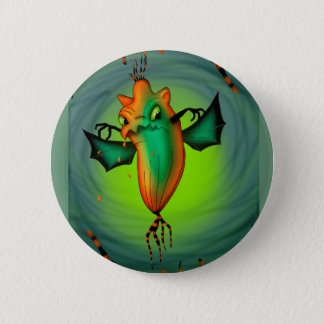 MOTT ALIEN-MONSTER-CARTOON runder Knopf 2 ¼ Zoll Runder Button 5,7 Cm