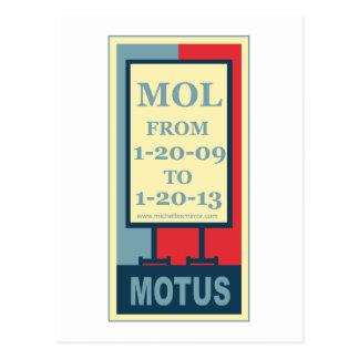 MOTUS IKONE: MOL VON 1-20-09 BIS 1-20-13 POSTKARTE