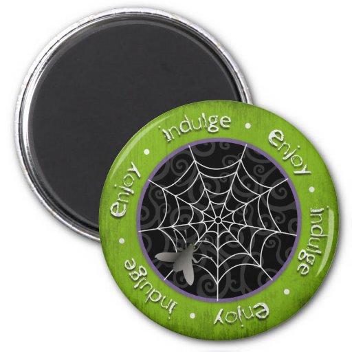 Mouches de Bzz et toiles d'araignée brutes pour Ha Magnets Pour Réfrigérateur