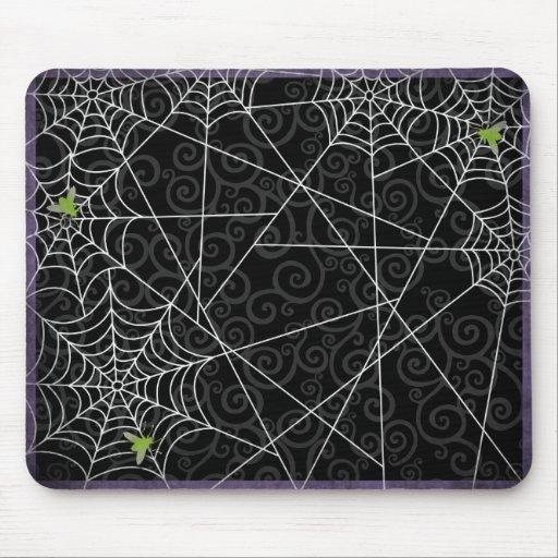 Mouches de Bzz et toiles d'araignée brutes pour Ha Tapis De Souris