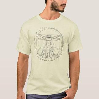 Mountainbike-Kunst-T-Shirt T-Shirt